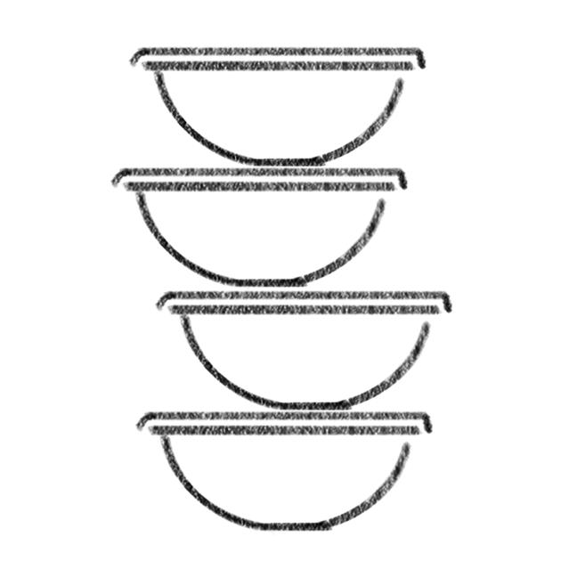 Stack of Dig bowls